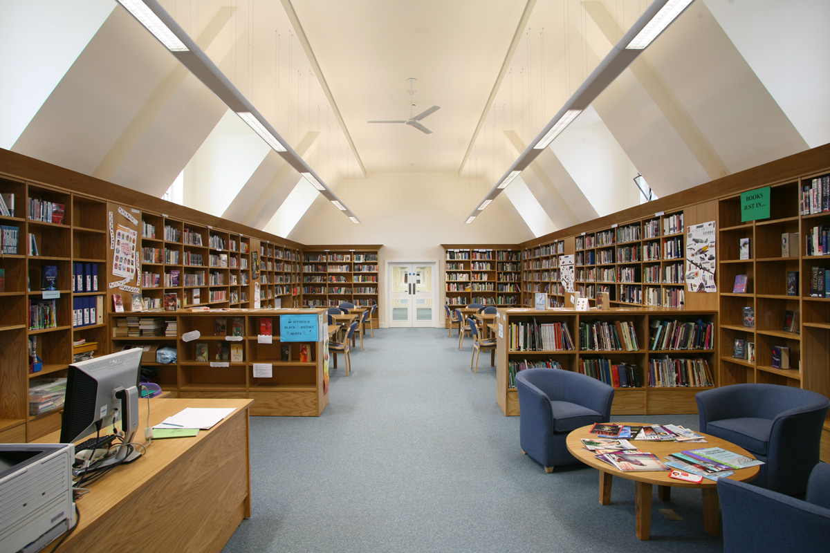 St James Senior Boys' School Library