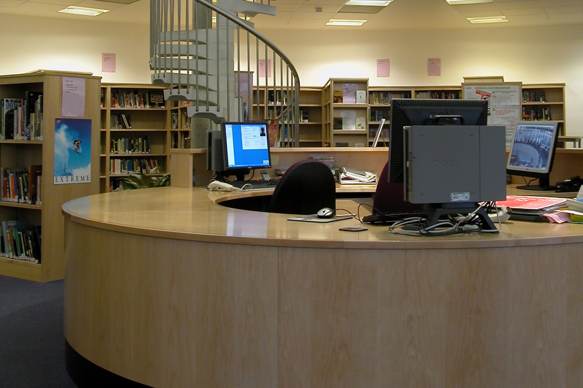 Tiffin School Academy Dempsey Centre Library
